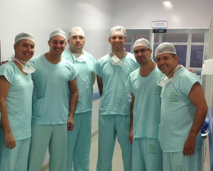 foto medicos endoscopia